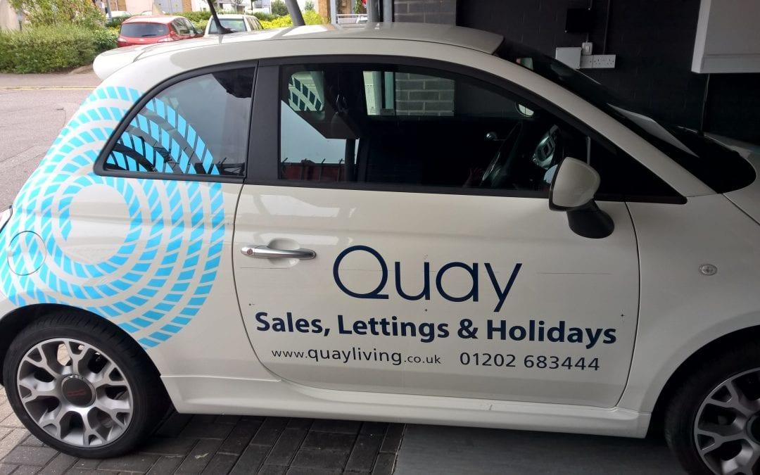 Quay Lettings – Vehicle Signage